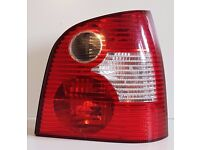 Rear Light ,VW Polo 2003-2006, Driver / Off Side, Free Delivery