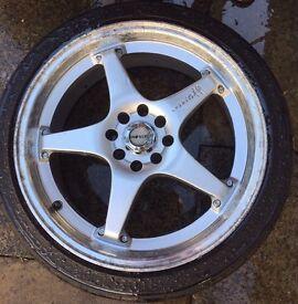 """17"""" inovate alloys good tyres"""