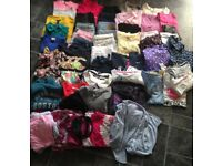 Large bundle of girls 9-11 clothes