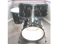 DRUM KIT Shell Pack Session Pro in Metalic Emerald Finish SUPERB CONDITION