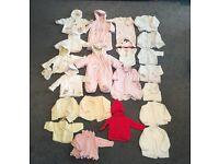 *** BABY CLOTHES BUNDLE (1) - NEWBORN / 0-3 MONTHS (GIRL) ***