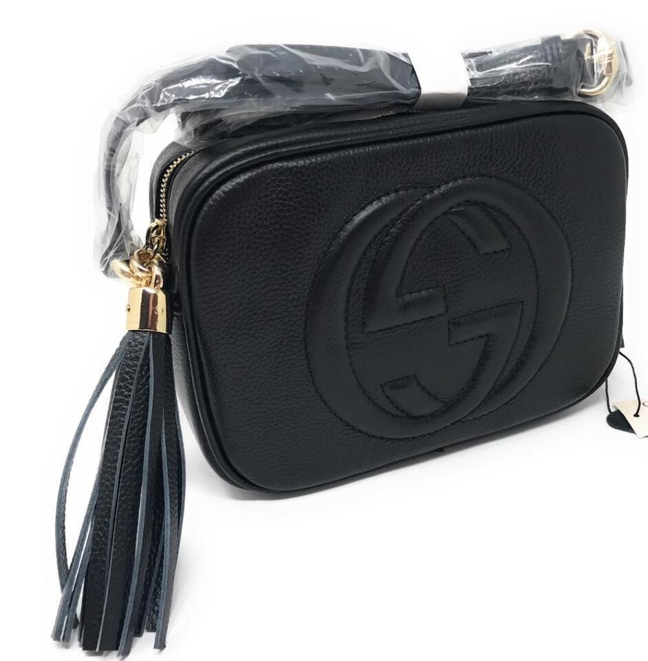 370d017fe64ad Gucci Soho Disco Black Leather ( More Styles Available)