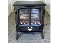Dimplex living flame electric fire.