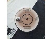 Vintage single - Don't Give Up On Us (A) Black Bean Soup (B) - David Soul 1976