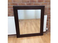 Large Wall Hanging Mirror, New & Boxed