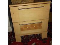 Solid Wood Pine Bedside Drawer