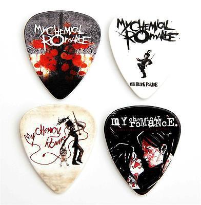 My Chemical Romance Guitar Plectrums - Packet of 4 MCR Premium Guitar Picks