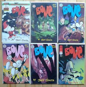 6 comic books (en anglais) de la série Bone à vendre pour 20$