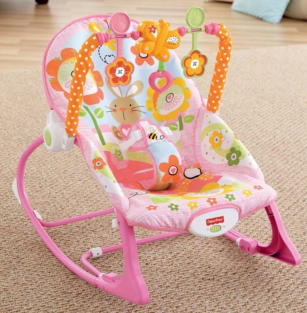 Fisher Price Infant to Toddler Rocker - Pink