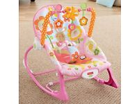 Fisher Price Infant to Toddler Rocker - Pink