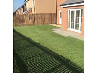 Fencing, new turf installations, decking and patios