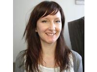 English language teacher, £22/hr, native speaker, qualified+experienced, IELTS/FCE/visa exams