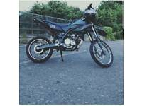 Yamaha wr 125 breaking