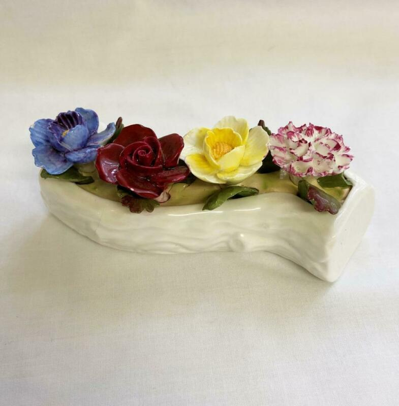 Vintage Aynsley Fine Bone China Multi Floral Bouquet Hand Painted England