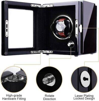 Automatic watch winder single. Brand New. Luxury glossy finish. Silent motor.