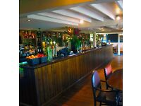 Bar / Waiting staff required at The Three Locks Pub/ Restaurant