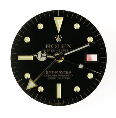 Vintage Men's Rolex GMT Master 1675 Black Nipple Dial & Hands set 2/T #B18
