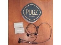 Pugz sealed wireless earphones