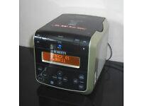 Roberts Sound 38 CD/DAB/FM Clock Radio CD Player Cube MP3/WMA CD Bookmark