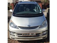 Toyota Previa 2.4 CDX 5dr (7 seat) 2001, Automatic, Petrol