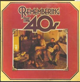 Remember the 40s box set of 8 LPs