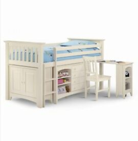 Childrens bed - sleepstation solid wood