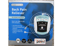 Back pain reliever, boxed like new.