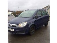 57 Plate Vauxhall Zafira 1.9 Cdti ~Diesel~7 Seats~New Mot~Serviced~BARGAIN £1250