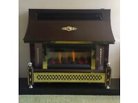 Robinson Willey Sahara LFE 4.4 kw Outset Gas Fire ( Bronze )