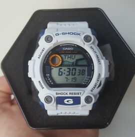 Casio G-7900A-7ER Mens White G Shock Watch
