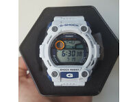 Casio G-7900A-7ER Mens White G Shock Watch