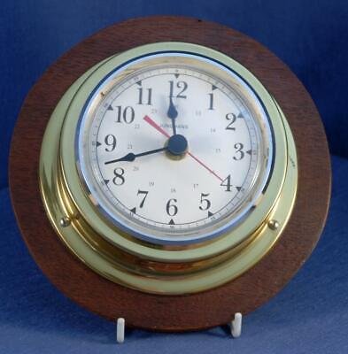 Vintage Junghans wall clock with W737 Quartz movement