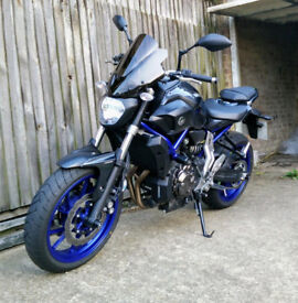 Yamaha MT07 MT-07 ABS - AKRAPOVIC EXHAUST - EXTRAS