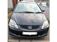 Honda, CIVIC, Hatchback, 2005, Manual, 1590 (cc), 3 doors