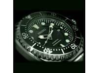 Seiko ska371p kinetic dive watch