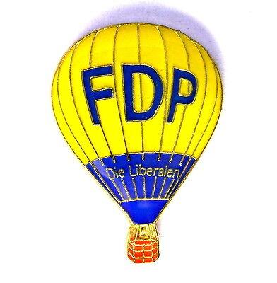 """BALLON Pin / Pins - FDP """"DIE LIBERALEN"""" / D-OFDP [3433]"""