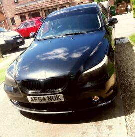 BMW 5 SERIES E60 BLACK.