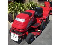 Used Countax C400H Ride on Lawnmower ( with additional mulching deck)