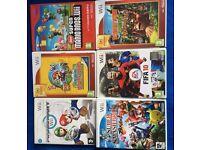 Nintendo Wii + 6 Games