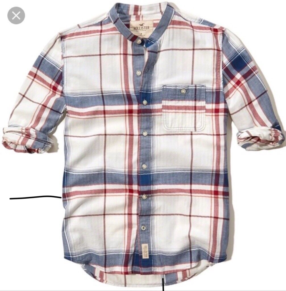 Banded Collar Cotton Shirt In Stratford London Gumtree