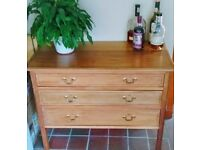 Georgian style chest of drawers £80 ONO
