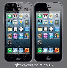 Apple iPhone 5 5c 5s 5se 6 plus screen display lcd repair Northampton Northamptonshire Brixworth