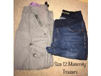 Size 12 maternity Trousers