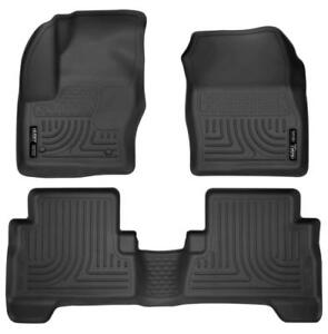 Husky Liner Floor Liners for 2013-2018 Ford Escape | Free Shipping | Order Today at motorwise.ca