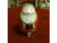Royal Crown Derby 1st edition santa