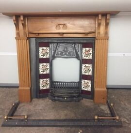 5 Vintage Fireplaces