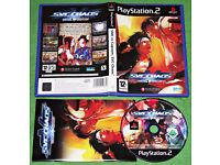 SNK vs Capcom: SVC Chaos - (PS2 Rare Game 2005) - Near Mint!!!