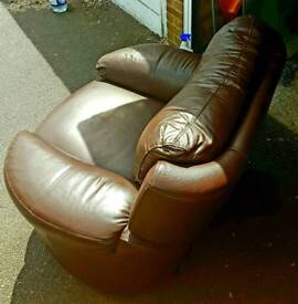 Recliner leather armchair from DFS