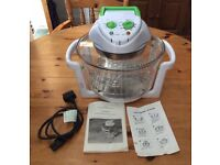 12 LTR Halogen Oven Premium Convection Cooker White 1300 Watts