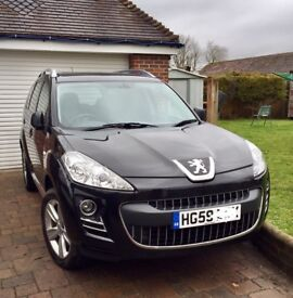 2010 Peugeot 4007 4x4 7 seater, High Spec